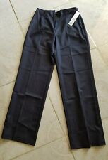Coldwater Creek Navy Stretch Polyester Rayon Dress Career Pants Size P4