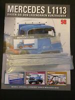 Bau den Lkw Mercedes Benz L1113 Ausgabe Nr.98 Hachette 1:12