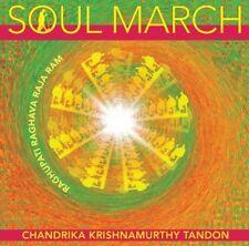 (CD) Soul March / Chandrika Krishnamurthy Tandon / New Age Fusion / SEALED