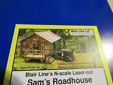 Blair Line N Scale Sam's Roadhouse Kit  #1003   Bob The Train Guy