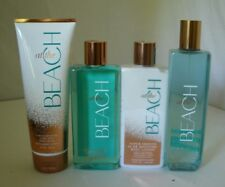 4 Pc Bath & Body Works At The Beach Set Lotion Gel Cream Mist Lot