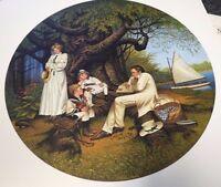 """Charles Wysocki """"Robin Hood"""" 2000 S/N Lithograph"""