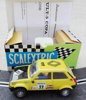 4058 SCX mejorado Renault 5 Copa Exin Triang Scalextric Ninco TeamSlot SRC OSC