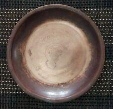 Antique Copper Round Plate, Round Copper Fruit Plate 21 cm