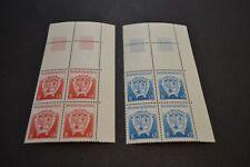 TAAF 1993 timbre n° 171/172 bloc de 4 BDF neufs ** luxe