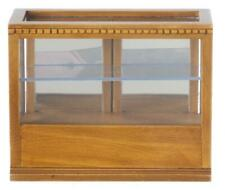 Dolls House Display Counter Cabinet Walnut Shop Fittings Store Furniture