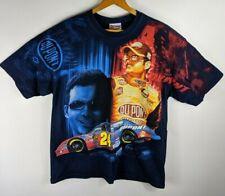 Vintage Jeff Gordon #24 All Over Print T Shirt Mens Sz L Chase