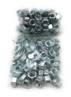 3//8 x 14 Carriage Bolts with Nuts /& Washers 12 per Pack