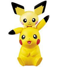 Pokemon Mini Figure Big Eraser3  Pikachu & Pichu Japan New Pocket Monster