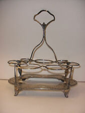 Antique English Sterling Silver Condiment Cruet castor Stand 1833 Henry Chawner