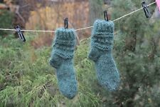 Homemade Knitted Wool Socks