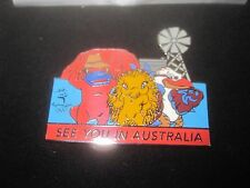 SYDNEY 2000 OLYMPIC GAMES PIN MASCOT SEE YOU IN AUSTRALIA ~ 2128