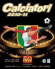 BUSTINA FIGURINE CALCIATORI PANINI 2010 2011 NUOVA ORIGINALE
