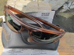 Vintage Ray Ban B&L U.S.A. L2872 Tort Balorama Dirty Harry Wraparound Sunglasses