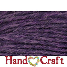 Deluxe Worsted Universal Yarn GRAPE RUSTIC Wool #4 Weight 220yd It Felts! Purple
