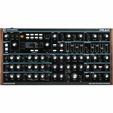Novation Peak Polyphonic Synth 8 Voice Analogue Synthesizer Producer Filters