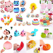 Fun Toy Squishy Squeeze Realistic Slow Rising  Stress Relief  Charms Collections