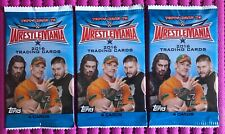 Topps WWE Road to Wrestlemania 2016 Trading Cards, 3 PACKS by 4