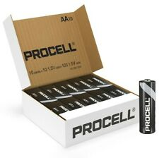 Duracell Procell REPLACES Duracell Industrial 100 cells x AA MN1500 batteries