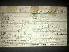 1946 OAKLAND OAKS: Ora Burnett SIGNED Vintage Heilbroner 3x5, D.1966!