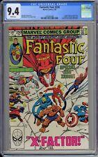 Fantastic Four #250 CGC 9.4 NM Wp Marvel Comics 1983 John Byrne Story & Art