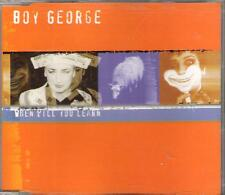 "BOY GEORGE - RARO CDs ITALY "" WHEN YOU LEARN """