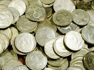 CIRCULATED 1937-1939 SILVER 2 MARK THIRD REICH COINS- 2 REICHSMARK - GERMANY