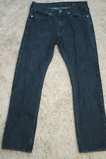 # Mens Jeans size 32 x 32 BULLHEAD Slim fit pacsun, dark blue faded male cotton