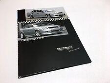 2002 Steinmetz Opel Vectra GTS Accessories Brochure
