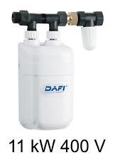 Chauffe eau instantané DAFI 11 kW 400V avec connecteur (biphasé) !=!