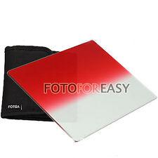 "FOTGA 4 X4"" Gradual Graduated Red filter for Matte box Cokin Z Hitech Holder"