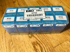 Lot of 10 NEW Eiko H755 12V 55W Halogen Bulbs