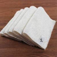 Kitchen Double Thickness Bamboo Fiber Dish Wash Cloth Towel Rags Dishcloths Pop
