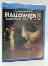 Halloween 5: The Revenge of Michael Myers (Blu-ray Disc, 2012) NEW