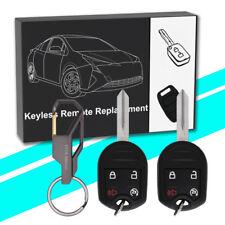2 for Ford 2011 2012 2013 2014 2015 2016 F150 F350 keyless Remote start Key Fob