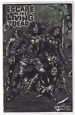 ESCAPE OF THE LIVING DEAD #1 Platinum Foil with signed poster by John Russo! NM+