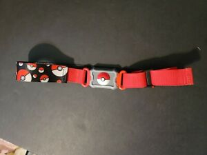 2016 Pokemon Nintendo Clip N Carry  Poke Ball Belt Tomy (Belt only)  BIN M