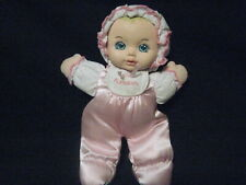 """1995 PLAYSKOOL 11"""" MY VERY SOFT BABY DOLL WITH SQUEEKER"""