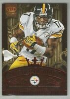 Mike Wallace Pittsburgh Steelers 2012 Crown Royale NFL Regime RED 32/100