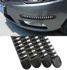 """4 Pcs 17"""" Black Chrome Bumper Corner Guard Protector Anti Scratch Pad For BMW"""