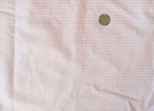 ~  PRETTY PINK TINY STRIPE COTTON  FLANNEL FABRIC PERFECT FOR DOLLS  LAST ~