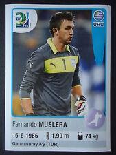 Panini 166 Fernando Muslera Uruguay Confed Cup 2013 Brasilien