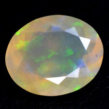 Natural Ethiopian Welo Multicolor Fire Opal Oval Cut 1.80 Cts 11x9 mm Gemstone