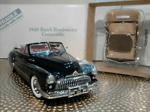 DANBURY MINT 1948 BUICK ROADMASTER CONV..1:24..RARE CAR..NIB..UNDISPLAYED..MINT