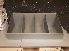 Silver Divided Pick Bins for Storage Racking - Collection Only - Great Condition