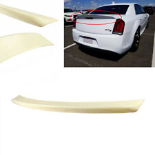 Primer MatteBlack Rear Trunk Lip Spoiler Wing Fit For Chrysler 300S 11-19 Sedan