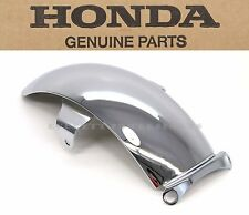 Honda Chrome Rear Fender 69-70 Z50 A K1 Mini Trail Mud Guard (See Notes) #W35