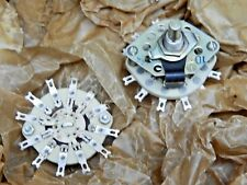 Ceramic Rotary Switch 3 pole 3 positions NOS Lot of 2
