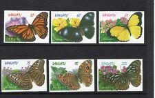 Vanuatu 1998 Butterflies self adhesive set UM (MNH)