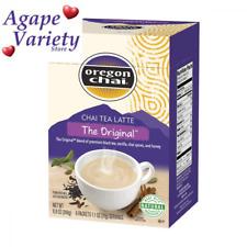 Oregon Chai Tea Latte Original Powdered Mix, 8 Packets